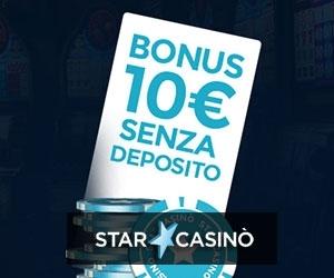 Bonus senza deposito 2019 casino