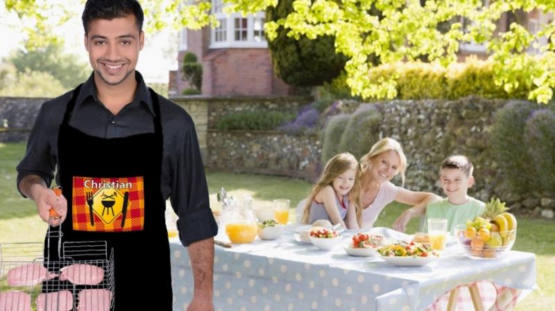 Vari accessori personalizzabili beauty da viaggio pantofole e grembiule da cucina - Grembiule cucina personalizzato ...