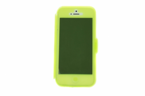 Opzione 3 D0281 Flip Cover Gomma iPhone5/5s Verde