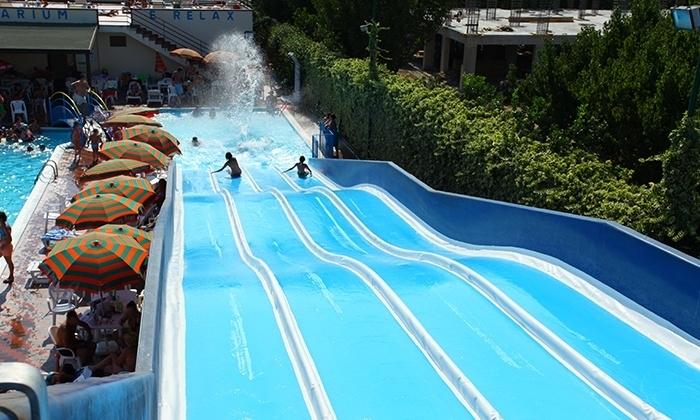 ingressi acquapark con 5 piscine happy days di caserta
