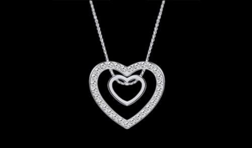 Heart Beat Necklace Opzione 9
