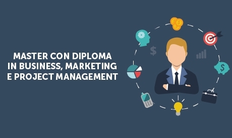 Master online con diploma in business marketing e project for Master project management online