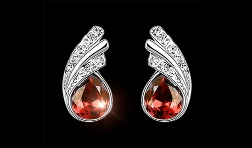 Princess Dream Earrings Red Opzione 6