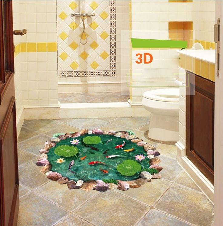 Adesivi 3d stickers per pavimenti e pareti - Tavole adesive 3d per pareti ...