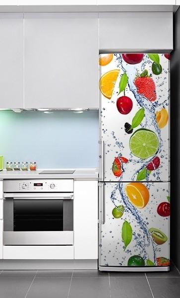 Idea regalo adesivo in vinile per il frigorifero in varie misure - Adesivi per la cucina ...